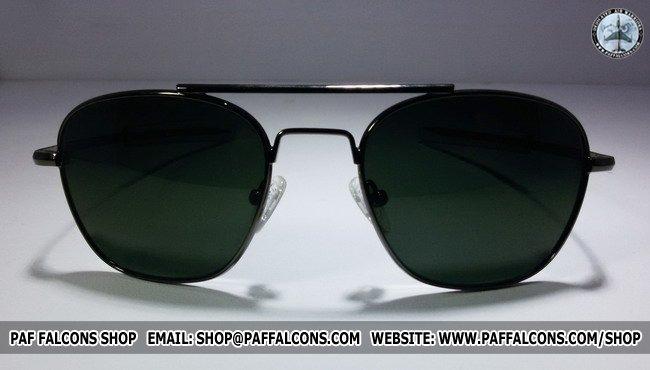 f818de2f410 AO Aviator - Gunmetal Frame - Falcons Shop